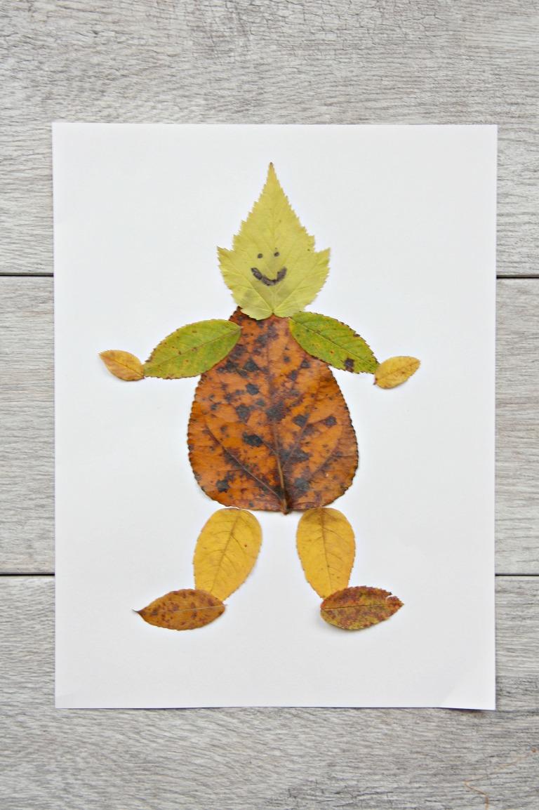 leaf-person