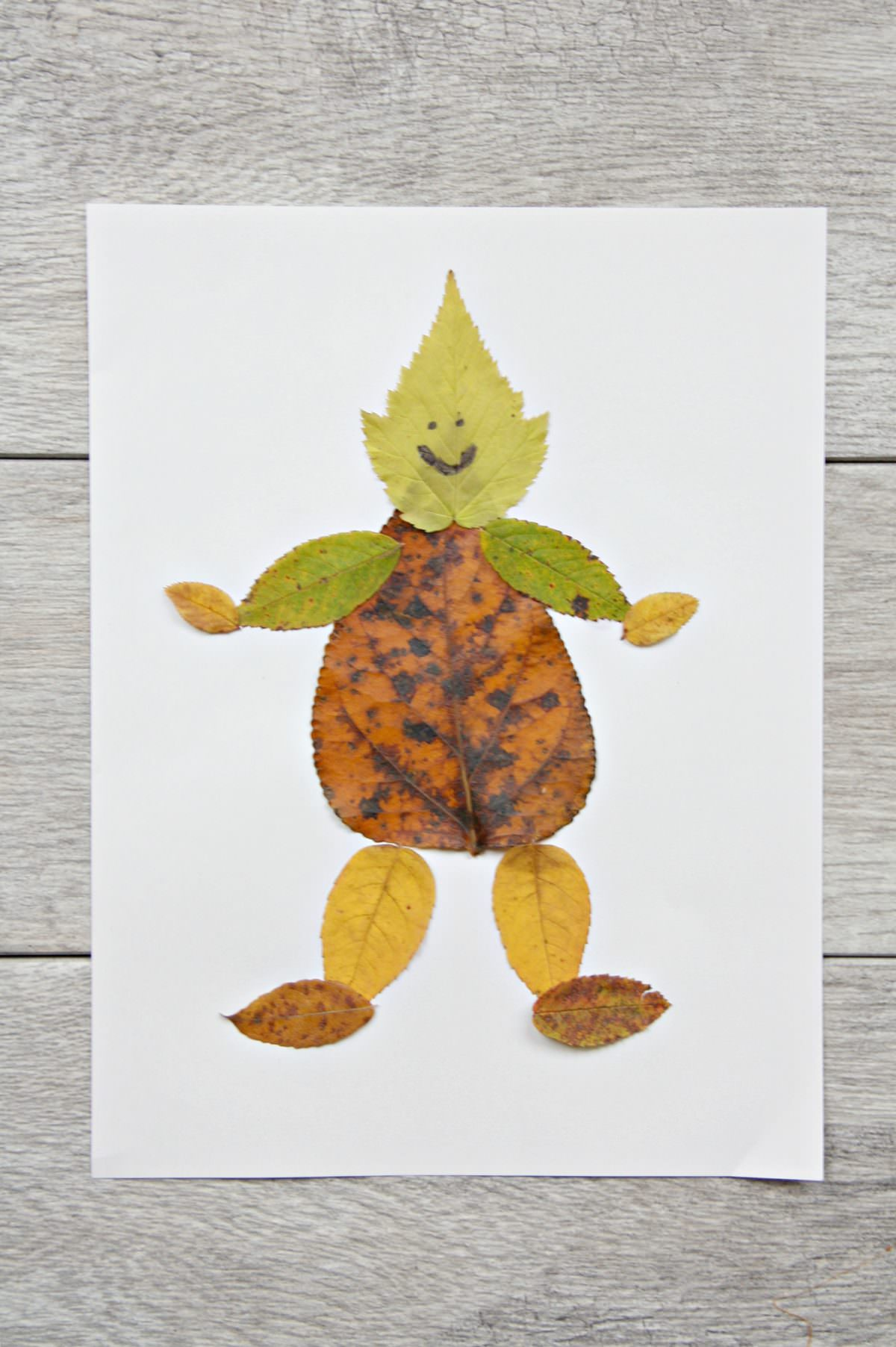 Fun And Easy Leaf People Craft My Mommy Style