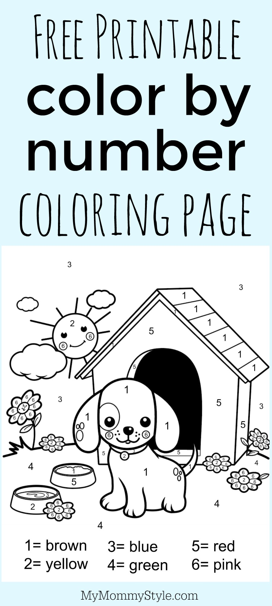 number coloring pages free printable - photo#44