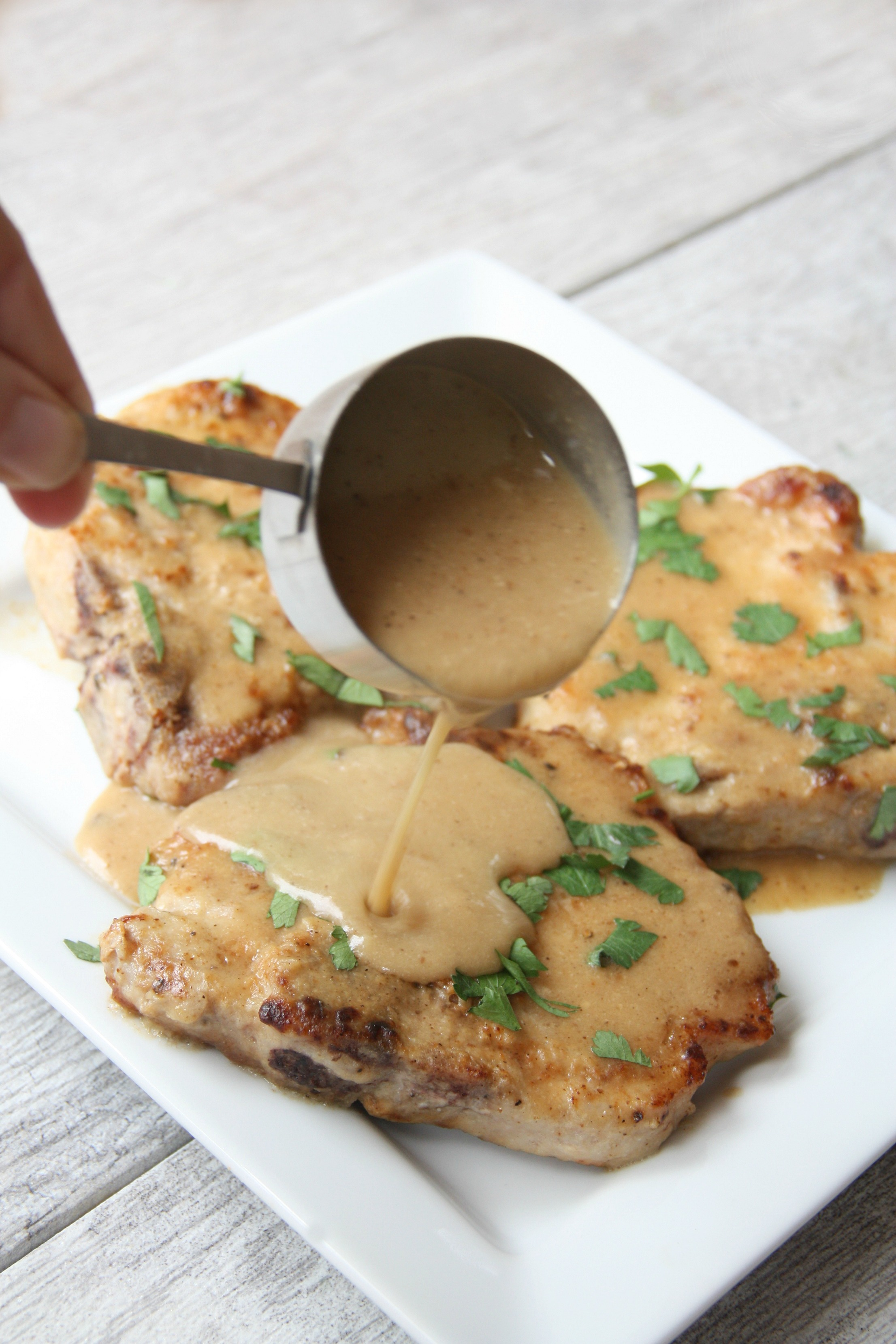 smothered pork chops my mommy style