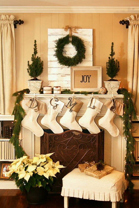 Decorating Ideas > Christmas Mantel Ideas  My Mommy Style ~ 053300_Holiday Decorating Ideas Mantel