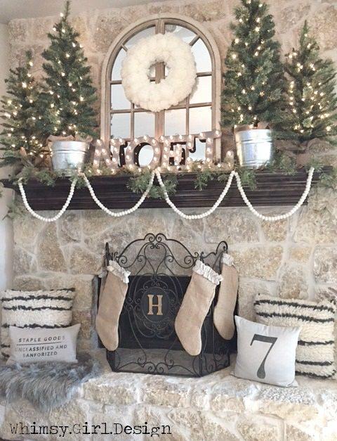Christmas Mantel Ideas My Mommy Style