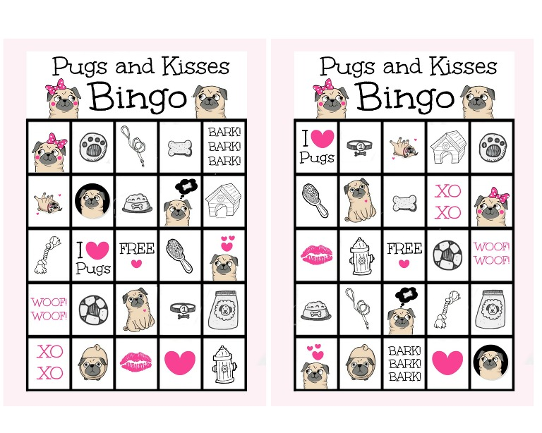 pugs-and-kisses-bingo-cards