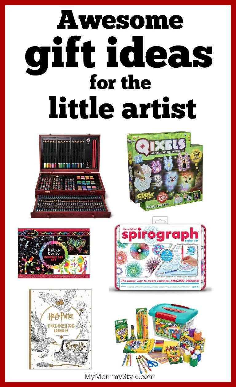 gift guide for the little artist