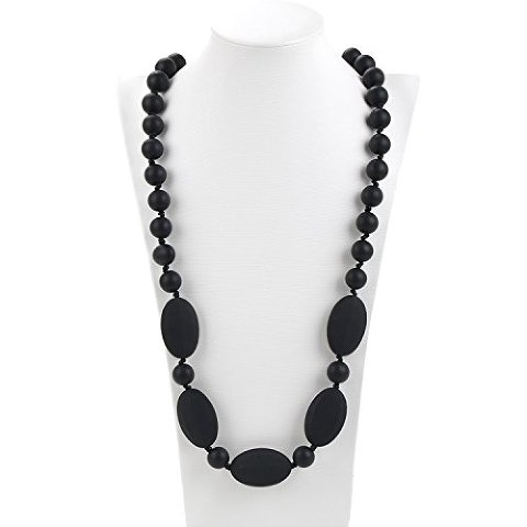 teething-black-necklace