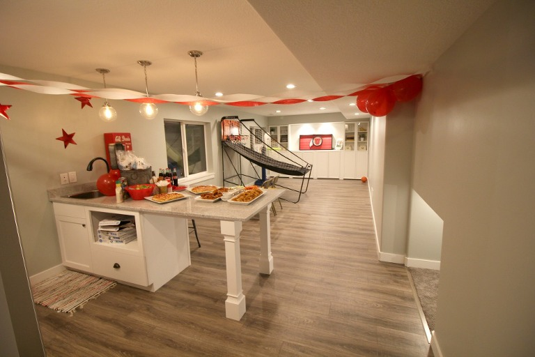 tailgating-party-family-time-low-stress-party-basement-finished-basement-basement-reveal