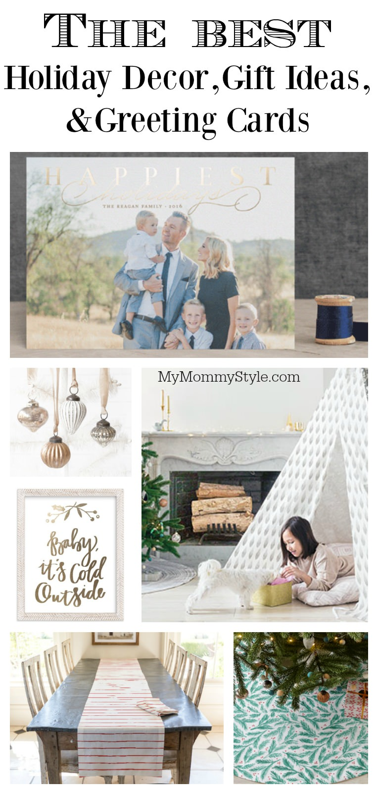 holiday cards home decor giveaway black friday cyber