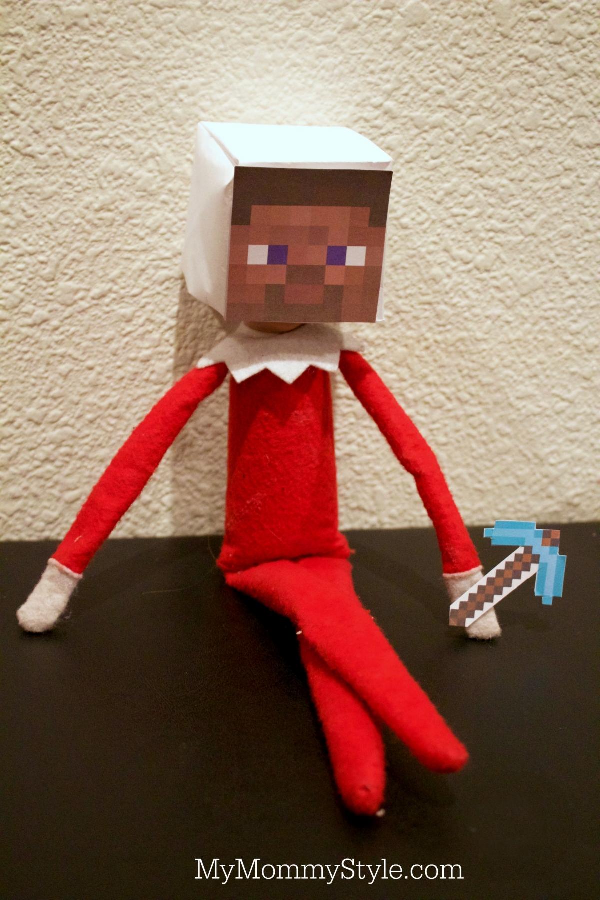Minecraft Elf On The Shelf My Mommy Style