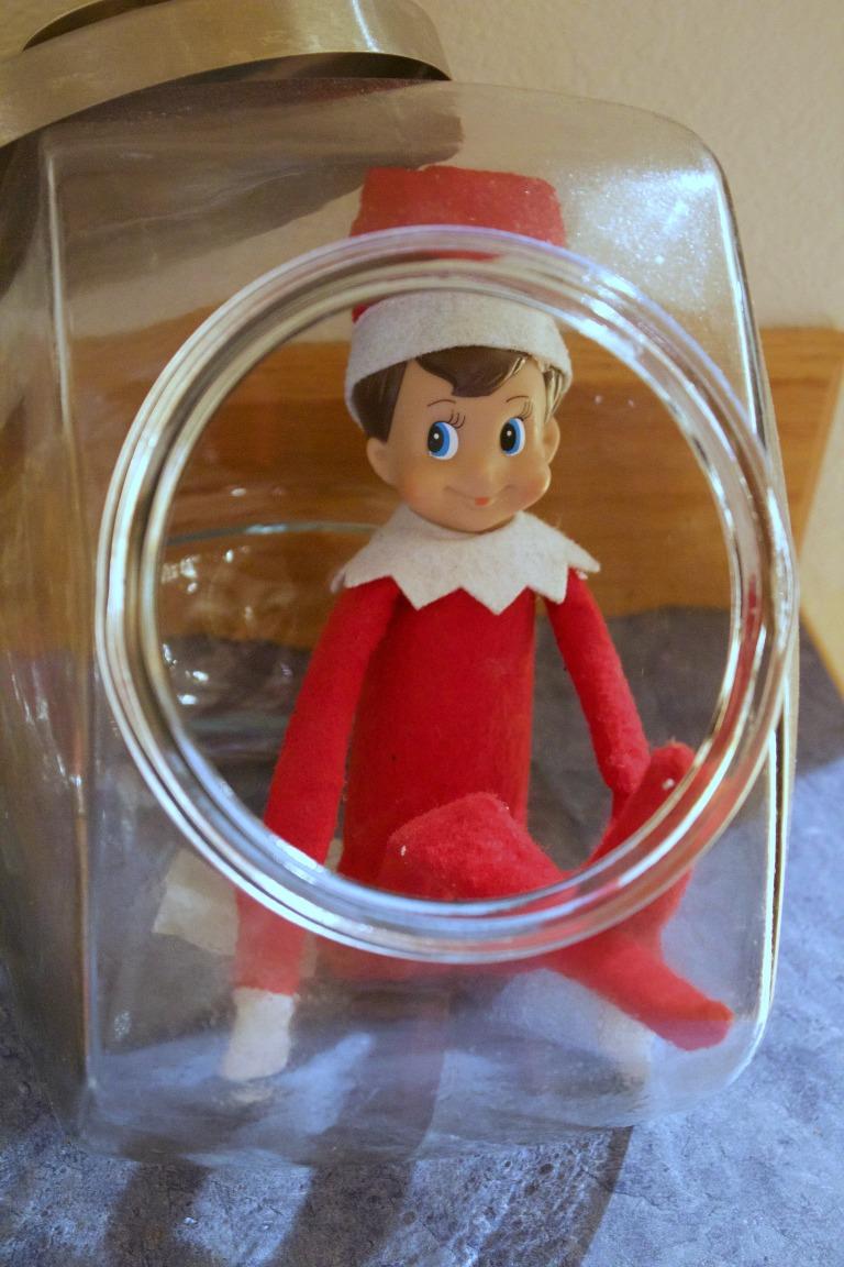 Elf on the Shelf in a Jar