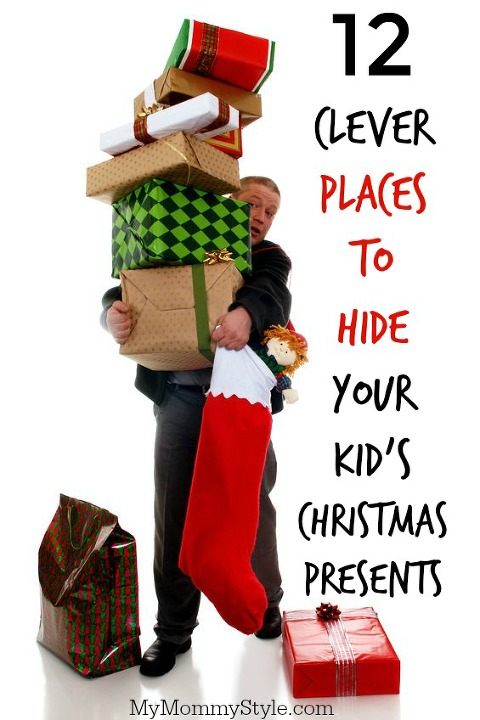 Hide Christmas Presents From Your Kids Hiding Gifts