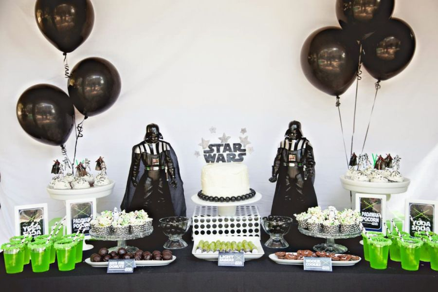 Star Wars Darth Vader Theme Personalised Party Bags