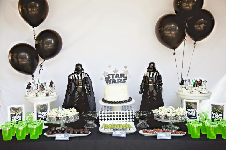 In Honor Of Star Wars Day Coming Up May 4th I Am Sharing A Printable And My Sons Birthday Party To Help Inspire You Have Some