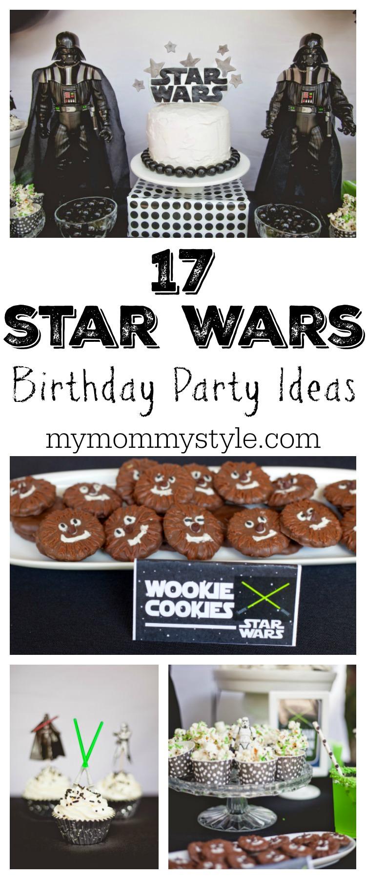 Star Wars Birthday Party Ideas! via @mymommystyle