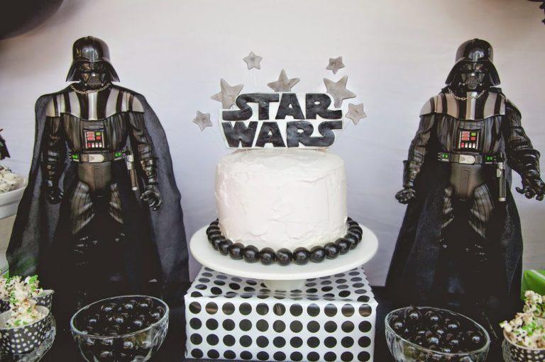 Star Wars Birthday Party Cake