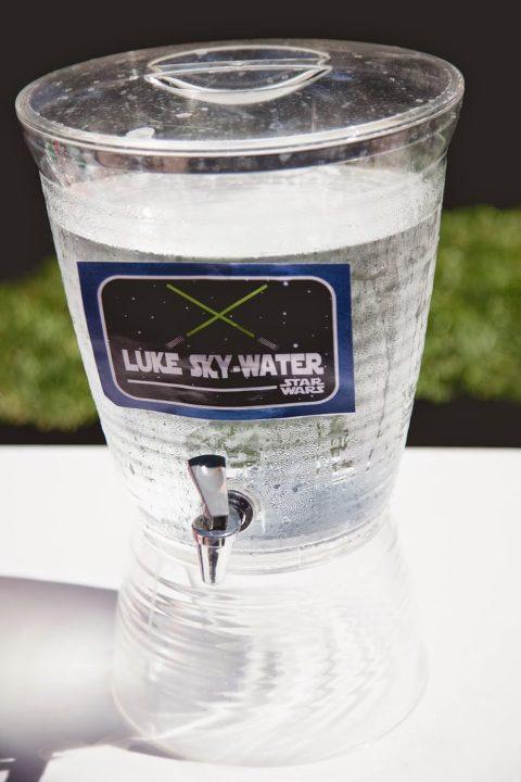 """Star Wars """"Luke Sky-Water"""" Drink."""