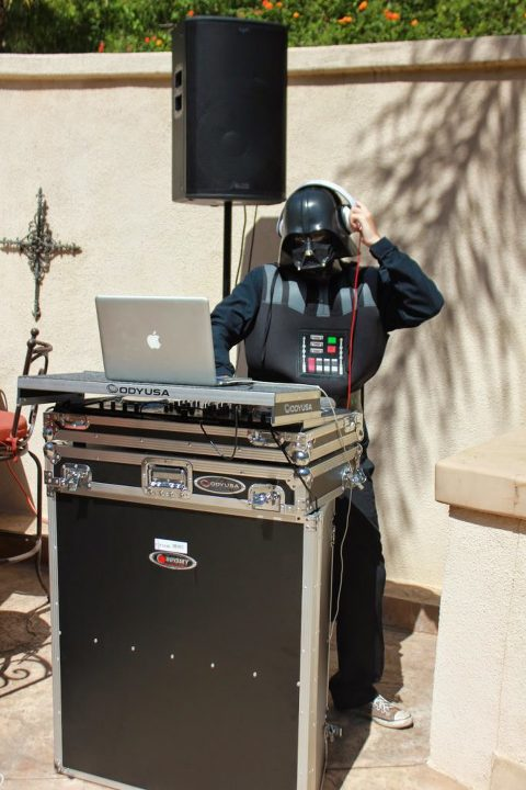 Star Wars Party Darth Vader DJ