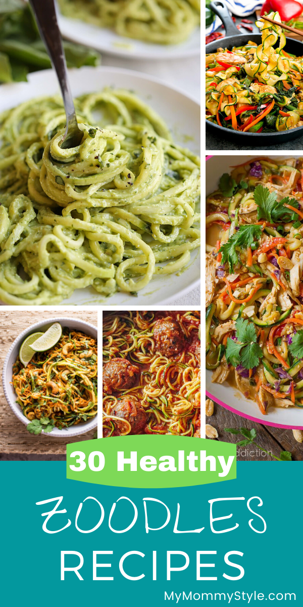 Plates of Zoodles