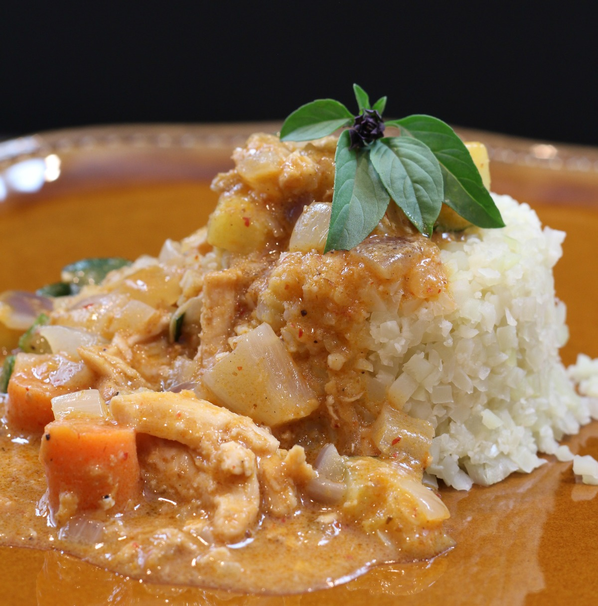 Keto Low Carb Chicken Curry - My Mommy Style