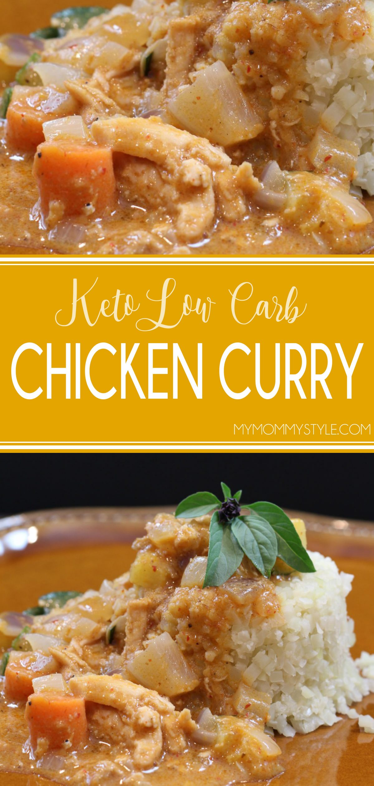This keto low carb chicken curry really hit the spot. This is a healthy spinoff of an amazing massaman chicken curry recipe we shared a few weeks ago. via @mymommystyle