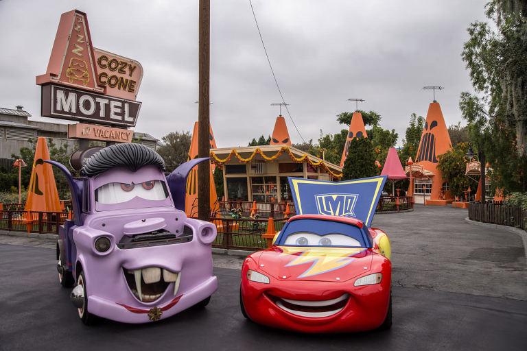 Cars Disneyland Halloween