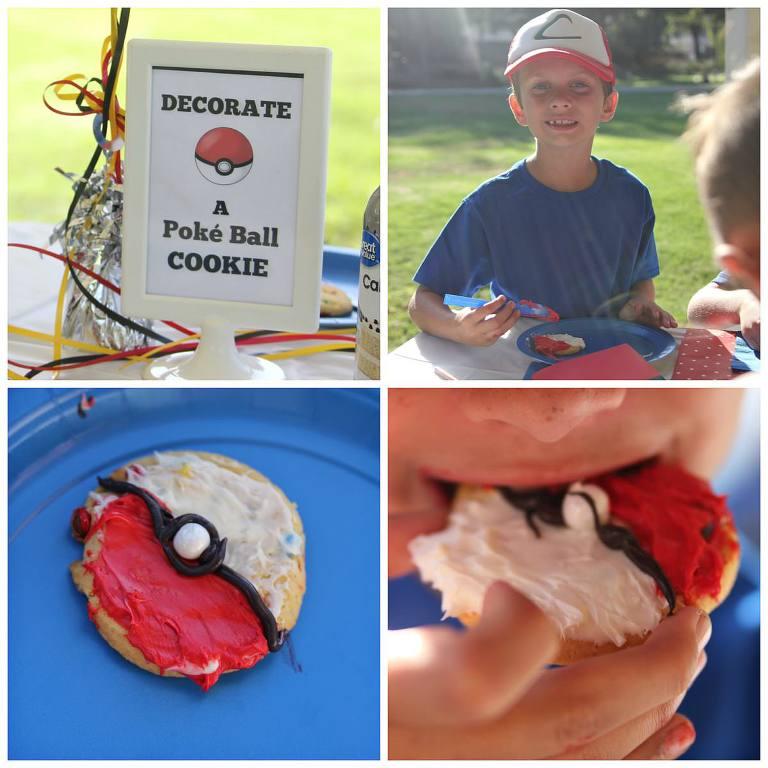Poke Ball Cookies