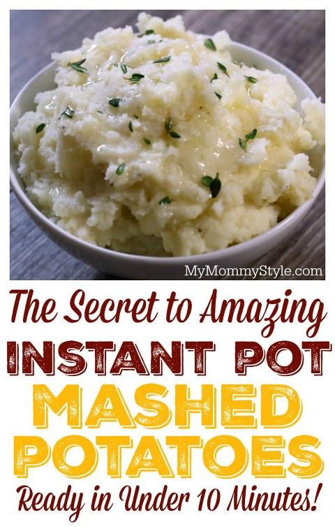 Secret to Amazing Instant Pot Mashed Potatoes