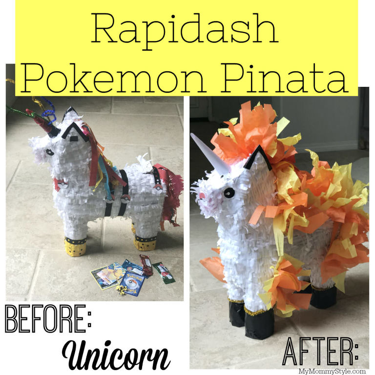 Rapidash Pokemon Pinata