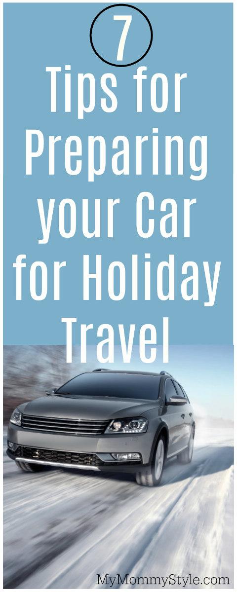holiday travel, car prep, holiday car prep