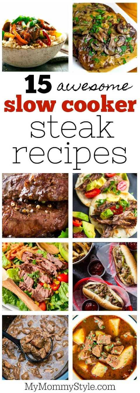 slow cooker steak recipes