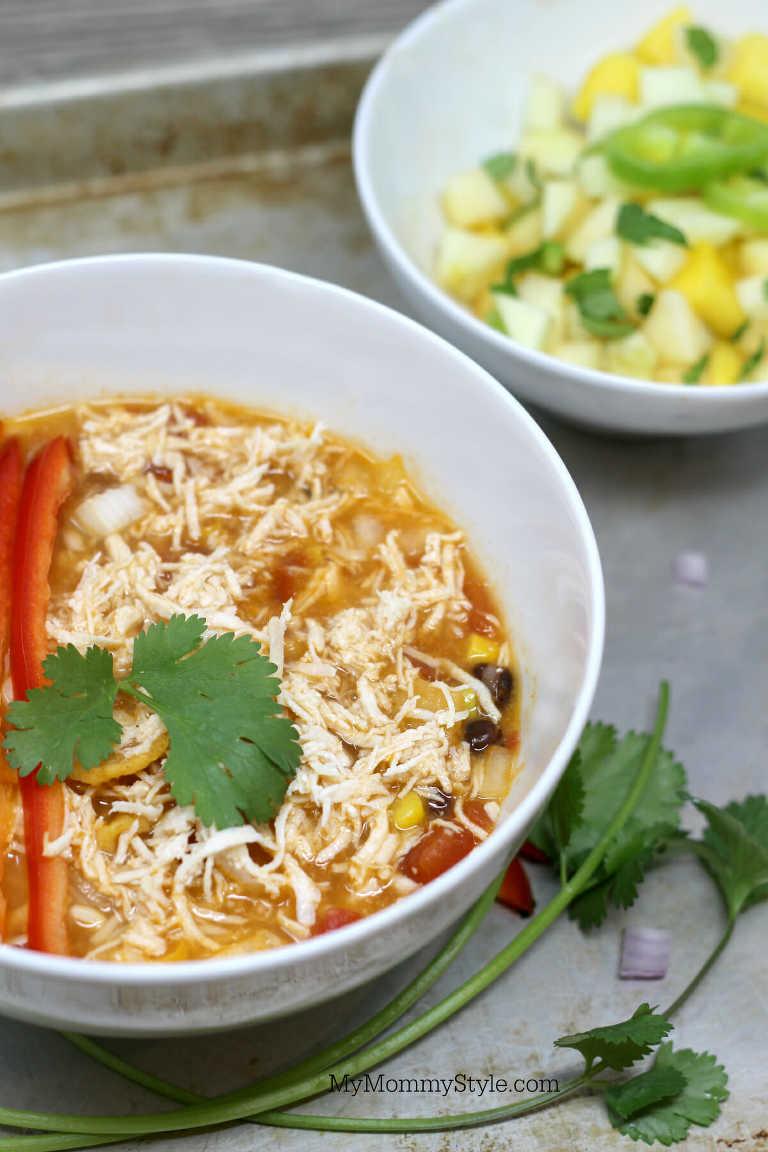 bowl of Taco Chili