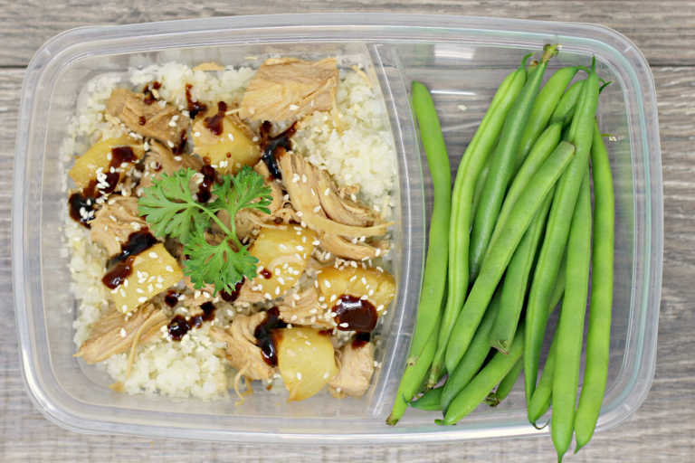 Pineapple Chicken Meal Prep Bowl