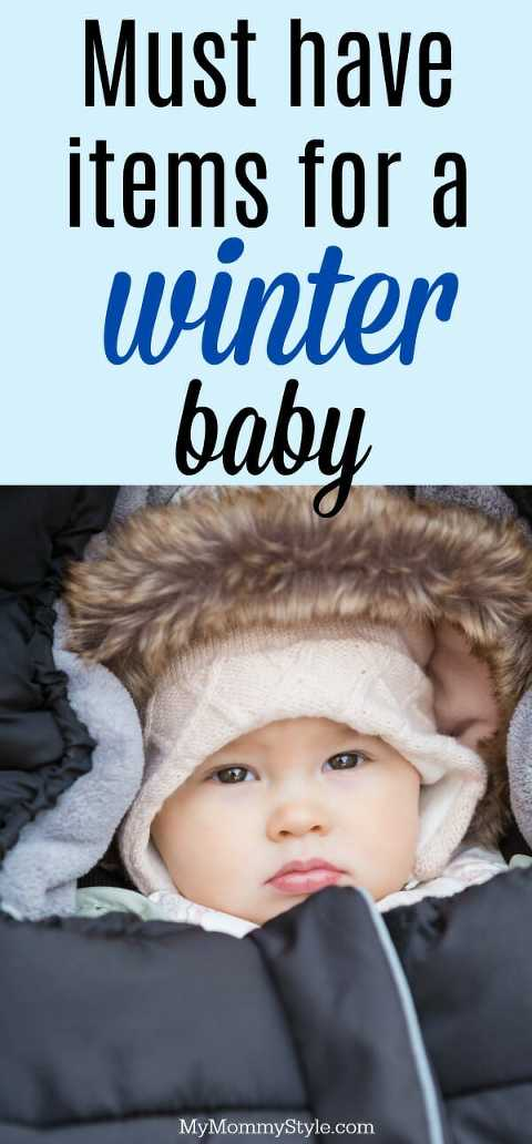 must have items for a winter baby