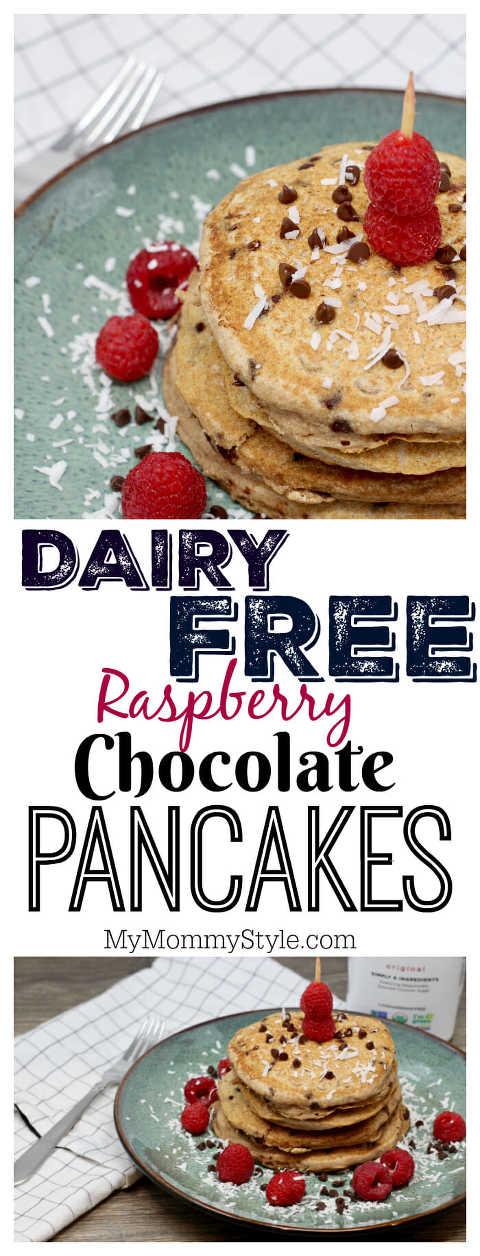 diary free pancakes, almond milk pancakes,
