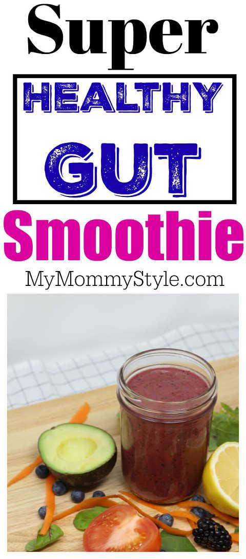 Super Healthy Gut Smoothie
