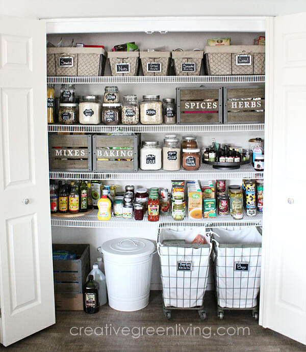 Effective Pantry Shelving Designs For Well Organized: 15 Pantry Organization Ideas