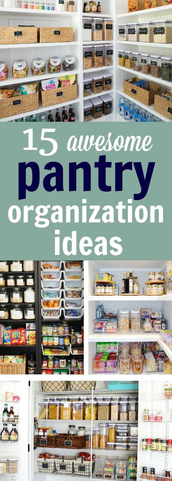 15 pantry organization ideas - My Mommy Style