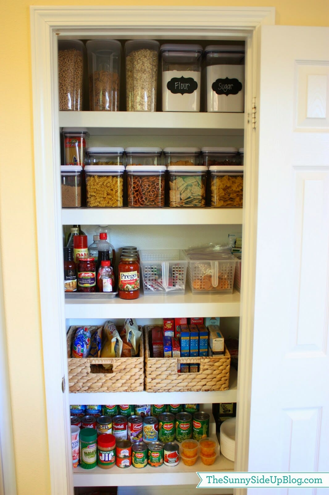 How To Organize Kitchen Cabinets Cupboards Pantries