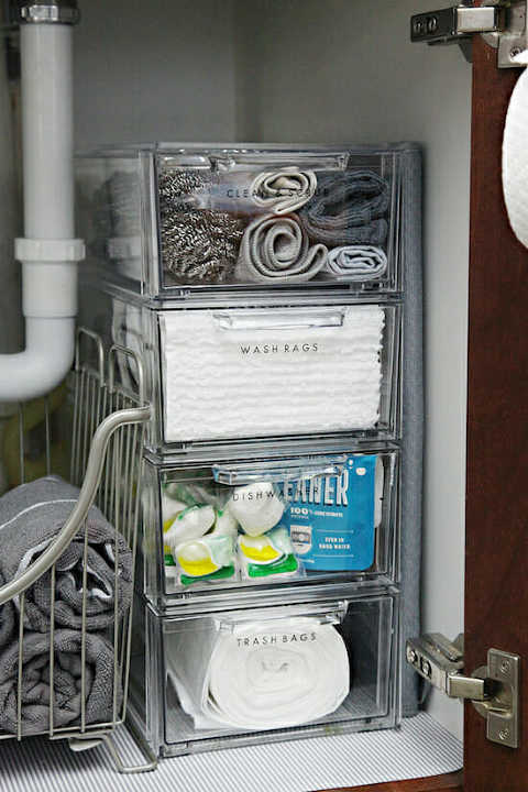 Under The Kitchen Sink Organization Ideas My Mommy Style