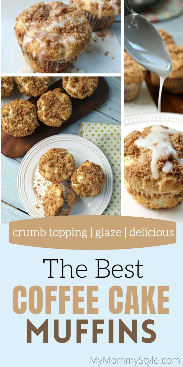 The best cinnamon coffee cake muffins via @mymommystyle