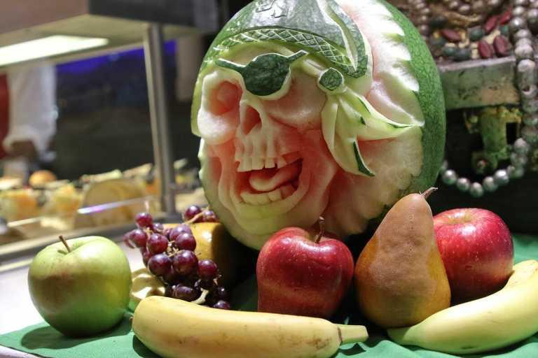 Disney Cruise Fruit Art