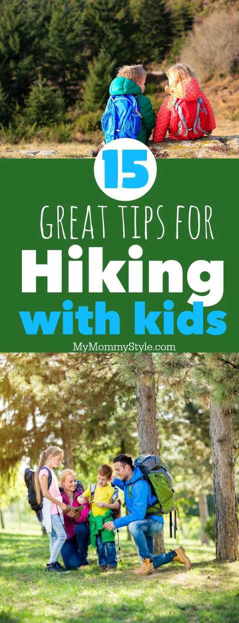 15 tips for hiking with kids