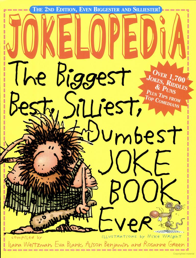 silliest joke book ever