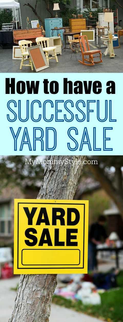 15 yard sale tips