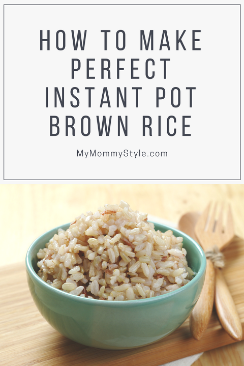 How to make perfect instant pot brown rice