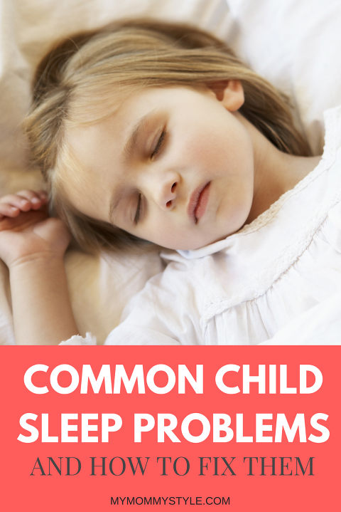 COMMON CHILD SLEEP PROBLEMS