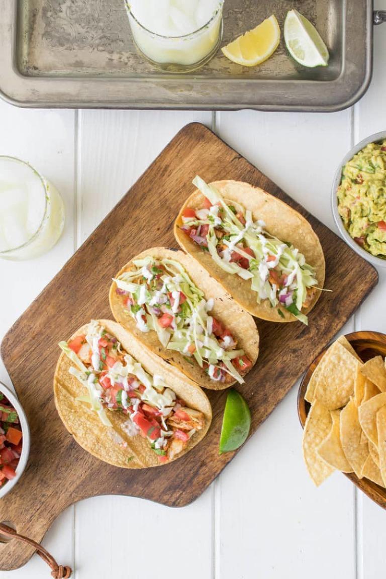 Baja Halibut Fish Tacos