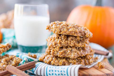 pumpkin no bake cookies