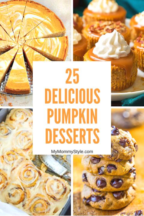 25 pumpkin desserts