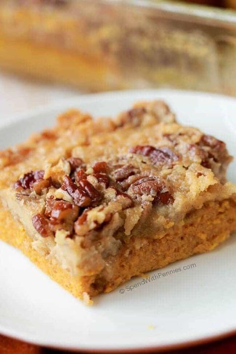 pumpkin pie crunch