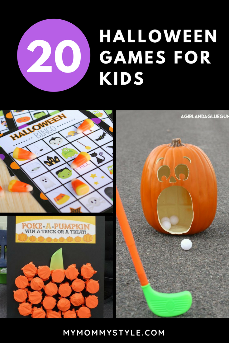 20 fun halloween games for kids - my mommy style